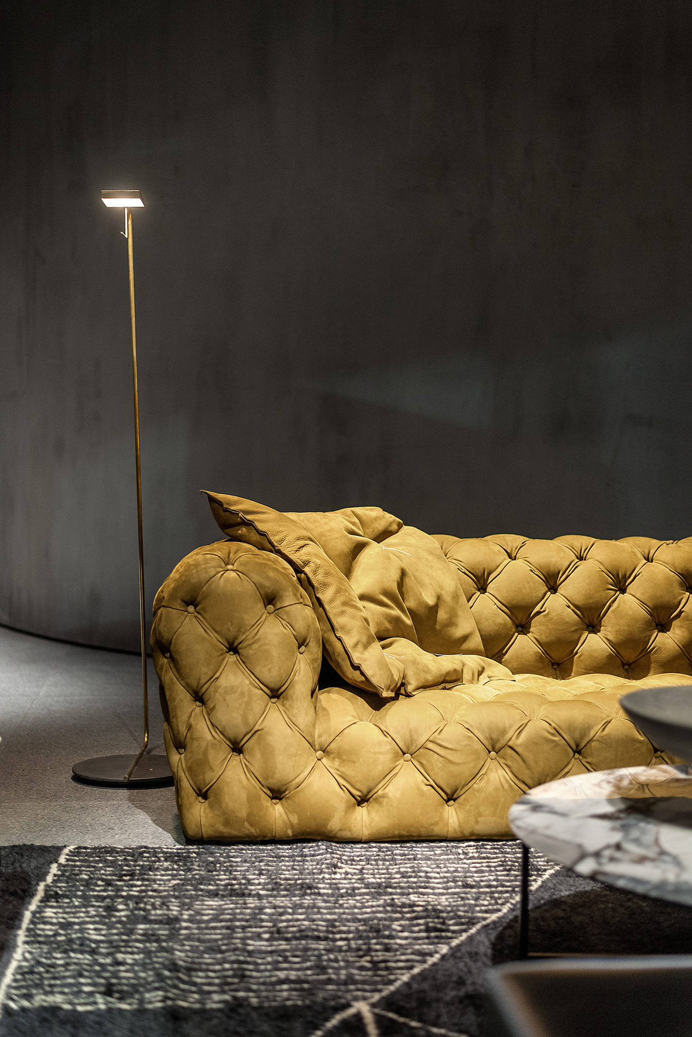 A photograph of Baxter 2018 Milan Salone del Mobile Showroom